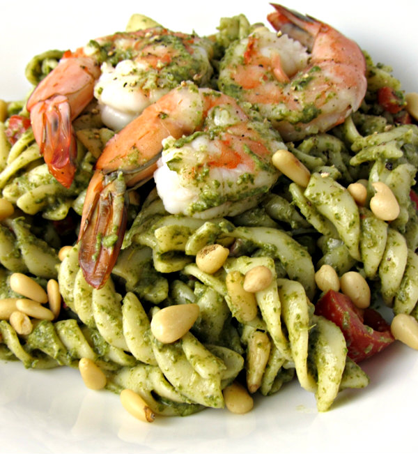 Spinach Shrimp & Mascarpone Pasta Salad - Profile 1