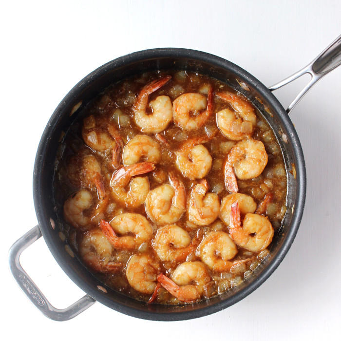 Dinner for Two: Honey Garlic Teriyaki Shrimp (15 Minutes!)