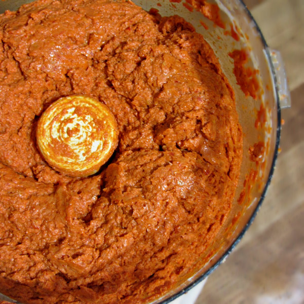 Sun-dried Tomato Goat Cheese Dip - Blended 2.2