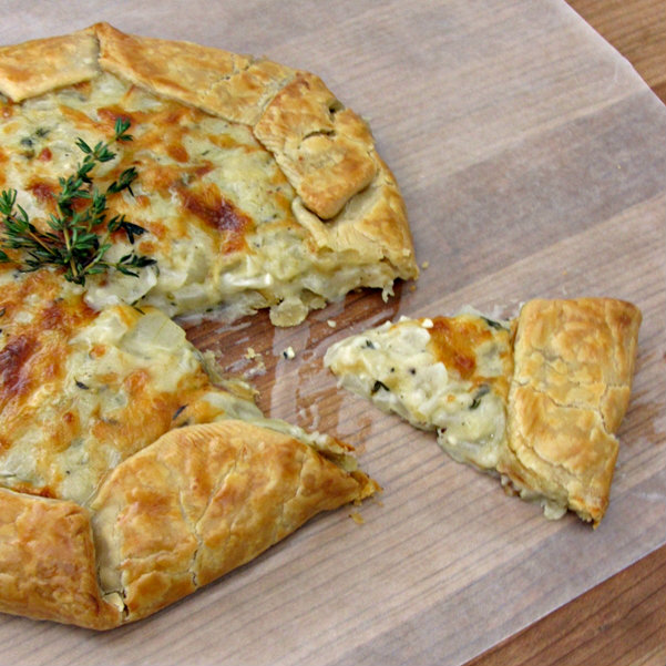 Sweet Onion Galette - Sliced 3.1