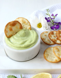 Ultra Creamy Avocado Dip (5 Ingredients + 5 Minutes!)