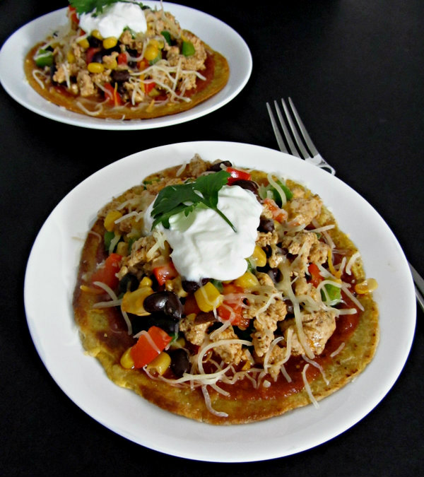Spicy Tequila Chicken Tostadas - Side Profile 2.3