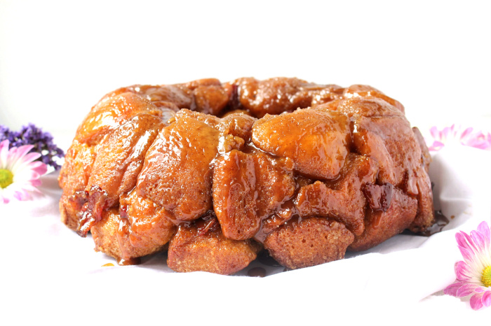 Bourbon, Bacon, and Brown Sugar Monkey Bread