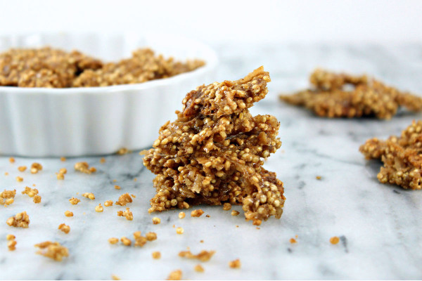 Mighty Maple Peanut Butter Quinoa Crunch