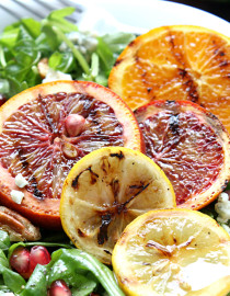 Super Citrus Summer Salad with Sweet & Tangy Lemon Vinaigrette