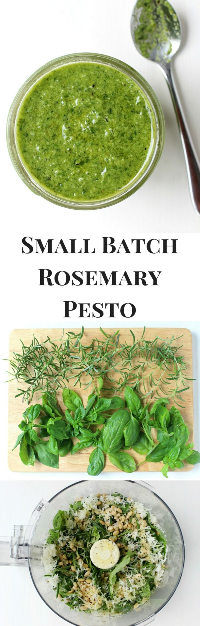 Small Batch Rosemary Pesto with Creamy Aged Manchego