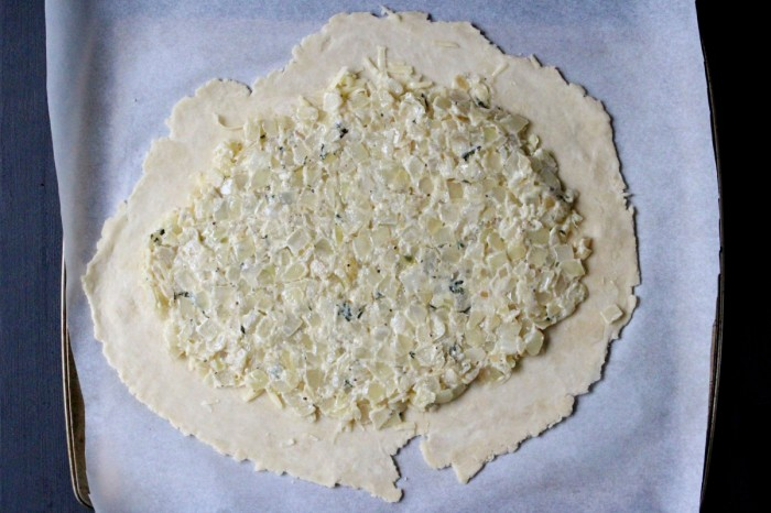 Sweet Onion Galette w/ Fontina & Thyme (new & improved!)