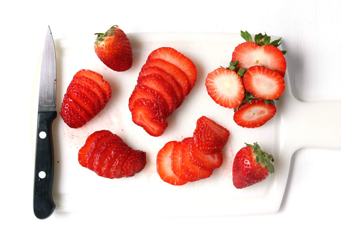Strawberry Toast - Strawberries 2