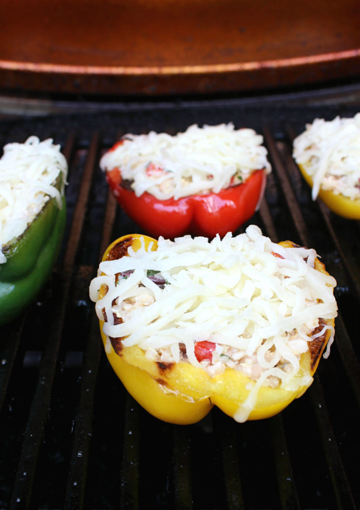 Dinner for Two: Grilled Mediterranean Stuffed Peppers