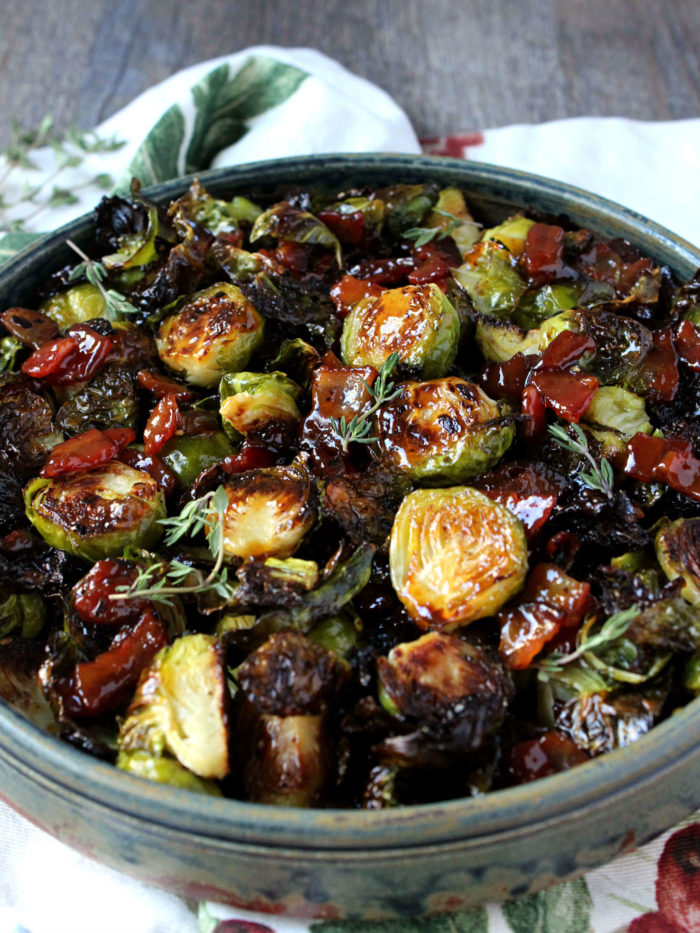 5-Ingredient Bacon Jam Brussels Sprouts