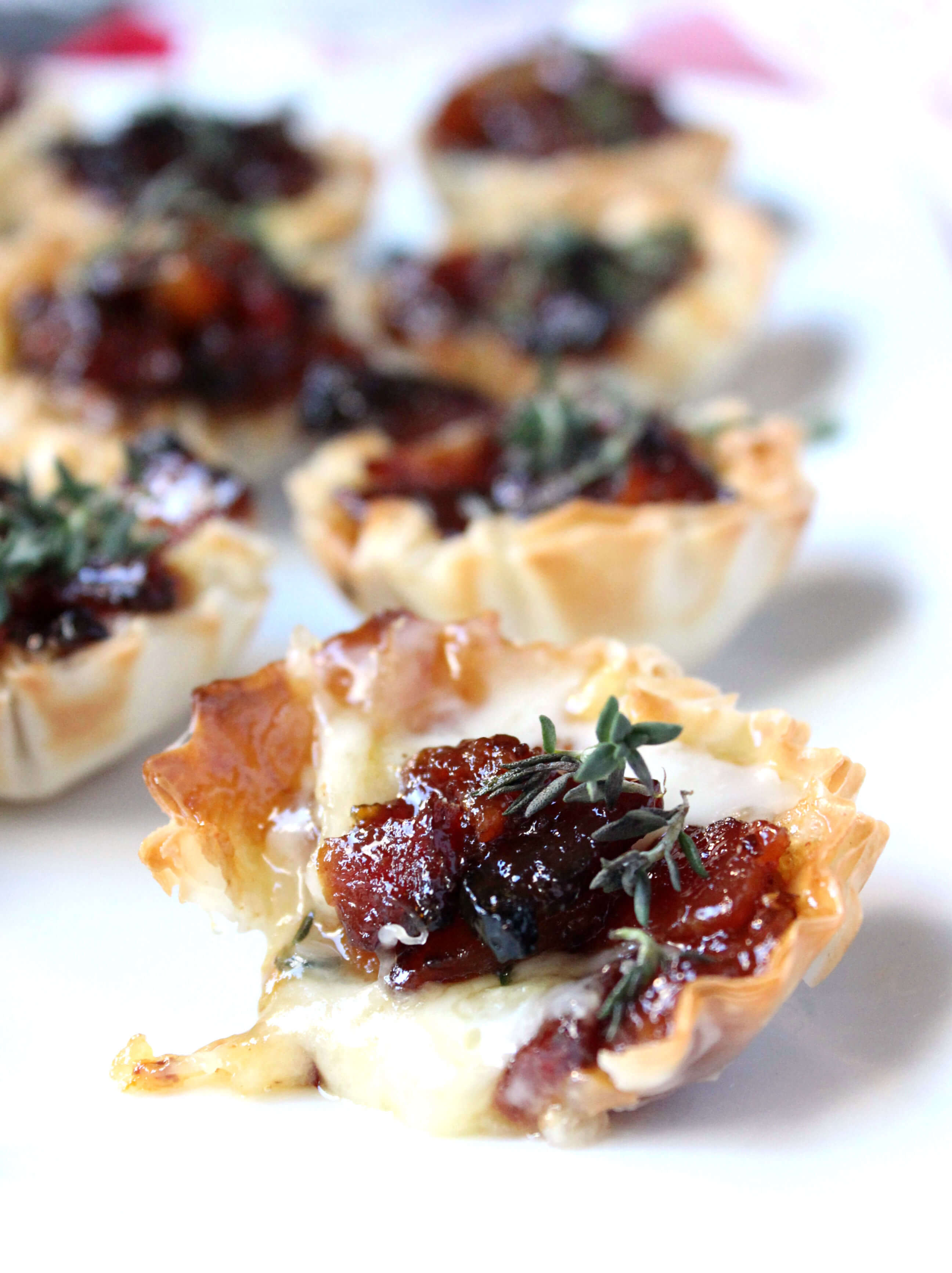 baked brie bacon jam phyllo cups video wry toast. Black Bedroom Furniture Sets. Home Design Ideas