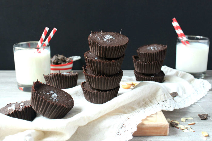 Six-Ingredient Chocolate Nut Butter Cups