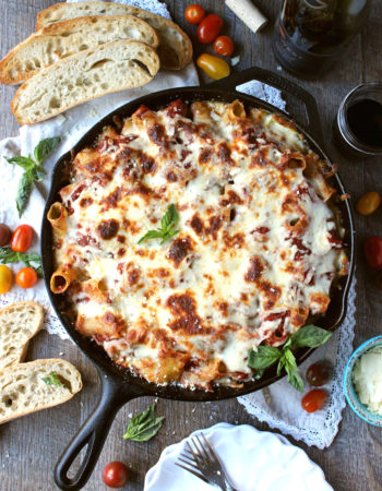 february 8 2017 giant skillet rigatoni this is one of those epic meals ...