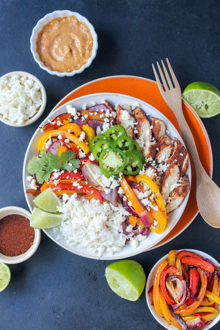 Chili lime chicken fajita bowls for two wry toast chili lime chicken fajita bowls for two forumfinder Image collections